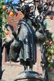 Ganseliesel fontanna w Goettingen Fotografia Royalty Free