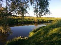 Ganska flod Royaltyfri Foto