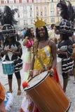 ganska folklore prague för festival 2 Royaltyfri Fotografi