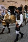 ganska folklore prague för festival 4 Royaltyfri Fotografi