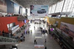 Ganska Kina Import och export arkivfoton