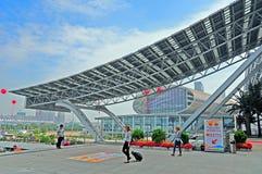 Ganska pazhoucomplex för Canton, Kina Arkivbild