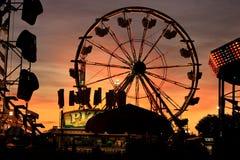 Ganska @ solnedgång för tillstånd Royaltyfria Foton