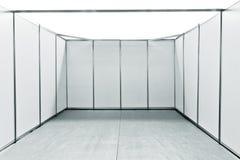 Ganska ställningsutrymme för tom utställning Arkivbilder