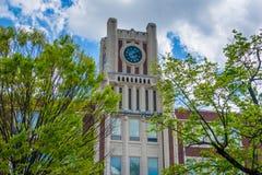 Ganska tillflyktsortskola, i ganska tillflyktsort, New Haven, Connecticut arkivfoto