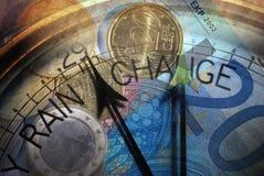 ganska väder för valuta Arkivfoton