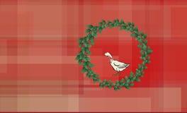 Ganso do Natal Foto de Stock Royalty Free