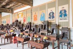 GANSU, CHINA - Apr 06 2015: Lu Chieftain Yamen. a famous histori Stock Image