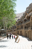GANSU, CHINA - Apr 30 2015: Mogao Caves. a famous historic site Royalty Free Stock Photography