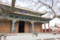 GANSU, CHINA - 08 April 2015: Wuwei Confuciaanse Tempel (Wuwei Wen Mi Royalty-vrije Stock Afbeeldingen