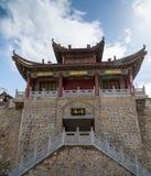 Gansu Kongtong mountain Chinese. Chinese Taoist shrine Gansu Kongtong mountain Stock Photo