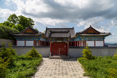 Gansu Kongtong mountain Chinese. Chinese Taoist shrine Gansu Kongtong mountain Royalty Free Stock Photos