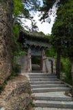 Gansu Kongtong mountain Chinese. Chinese Taoist shrine Gansu Kongtong mountain Stock Photos
