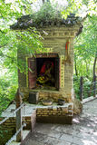 Gansu Kongtong mountain Chinese. Chinese Taoist shrine Gansu Kongtong mountain Royalty Free Stock Images