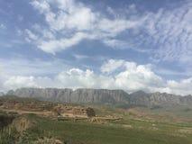 Gansu Plateau no1 stock images