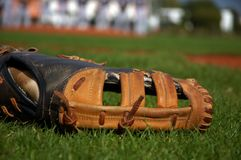Gant de base-ball image libre de droits