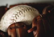 Gant de base-ball Image stock