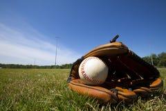 gant de base-ball photo stock