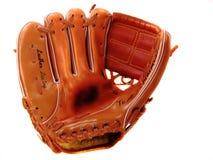 Gant de base-ball du gauchiste de l'enfant Image libre de droits