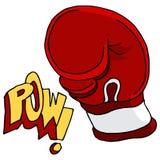 Perforateur de dessin de gant de boxe photos libres de - Gant de boxe dessin ...