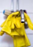 gant de robinet Images stock