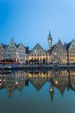 Gante constructiva histórica, Bélgica Imagen de archivo libre de regalías