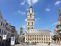Gante kyrka Arkivfoto