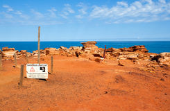 Gantheaume Point Broome Stock Image