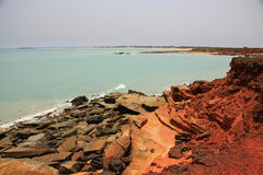 Gantheaume Point, Broome, Western Australia Stock Image