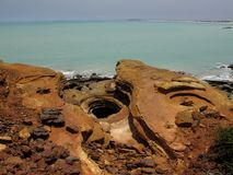 Gantheaume Point, Broome, Western Australia Royalty Free Stock Image