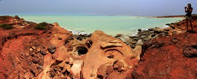 Gantheaume Point, Broome, Western Australia Stock Photography