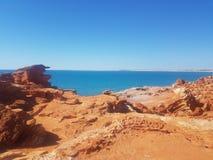 Gantheaume punkt, Broome Australien Royaltyfri Fotografi