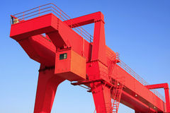 gantry crane Royalty Free Stock Images