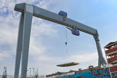 Gantry crane Stock Photography