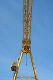 Gantry crane against the blue sky Royalty Free Stock Image