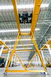 Gantry crane in factory Stock Image