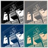 Gantry crane Stock Images
