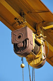 Gantry crane windlass Stock Images