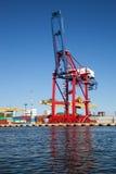 Gantry cranes Royalty Free Stock Images