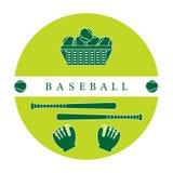 Gants, boules, battes de baseball Équipement de base-ball Image stock