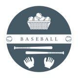 Gants, boules, battes de baseball Équipement de base-ball Photo stock