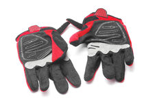 Gants d'Enduro Photo libre de droits