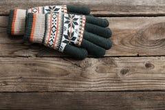 Gants d'hiver photos stock
