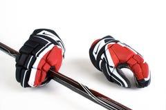 Gants d'hockey photos libres de droits
