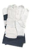 gants d'isolement photographie stock libre de droits