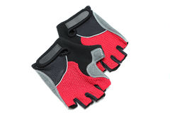 Gants de bicyclette photo stock