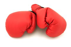 Gants de boxe photo libre de droits