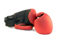 Gants de boxe photos stock