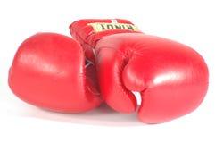Gants de boxe Photos libres de droits