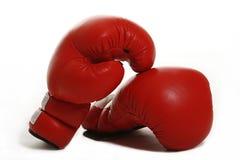 Gants de boxe rouges Images libres de droits